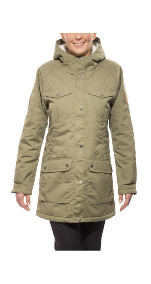 Fjällräven Greenland Winter Parka Women Green